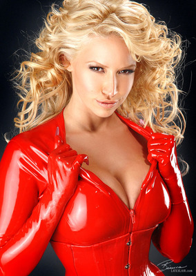 Red Catsuit - 01