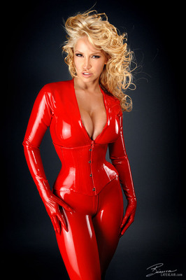 Red Catsuit - 02