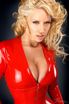 Red Catsuit - 03