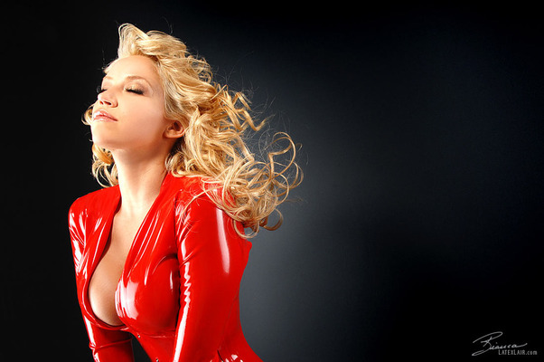 Red Catsuit - 07