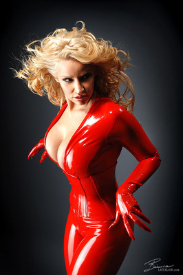 Red Catsuit - 08