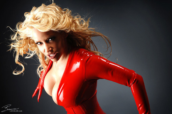 Red Catsuit - 09