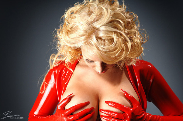 Red Catsuit - 10