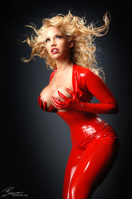 Red Catsuit - 11