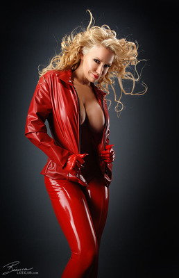 Red Catsuit - 13