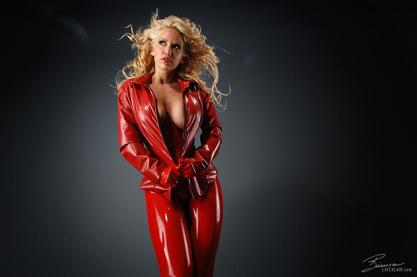 Red Catsuit - 14