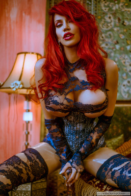 Ripped Blue Lace - 06