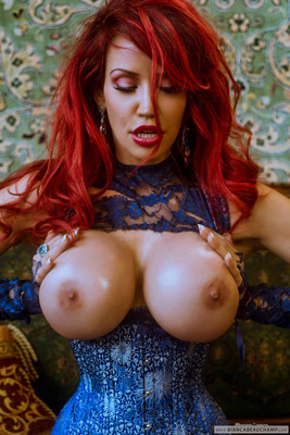Ripped Blue Lace - 07
