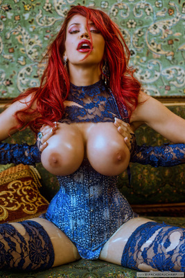 Ripped Blue Lace - 08