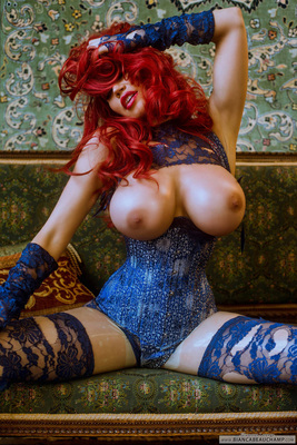 Ripped Blue Lace - 11