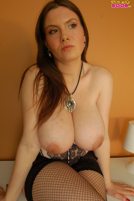 Lacy Corset And Fishnet - 11