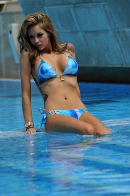 Nuts Model In Hot Bikini - 14