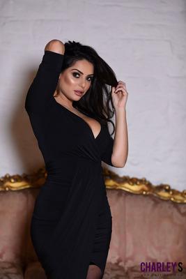 Sexy Black Dress - 07