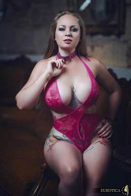 Sexy Pink Bodysuit - 00