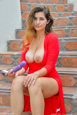 Hot Red Dress - 06