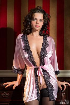Lovely Silk Robe - 00