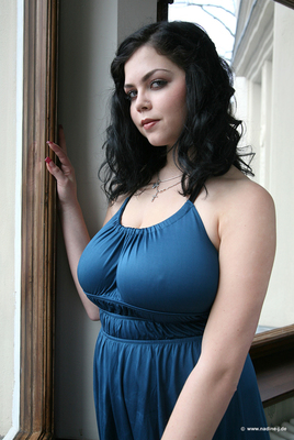 Lovely Blue Dress - 02