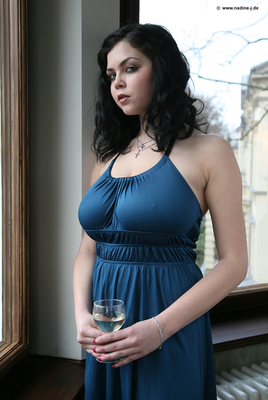 Lovely Blue Dress - 04