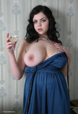 Lovely Blue Dress - 06