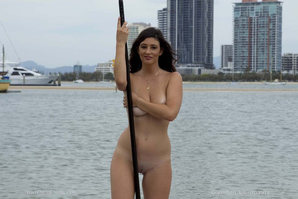 Nude Paddle Boarding - 01