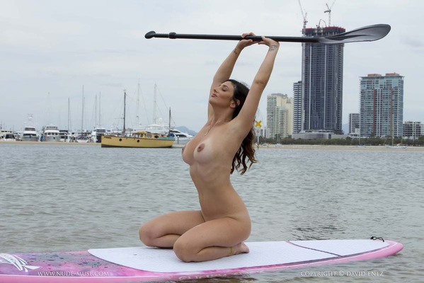 Nude Paddle Boarding - 02