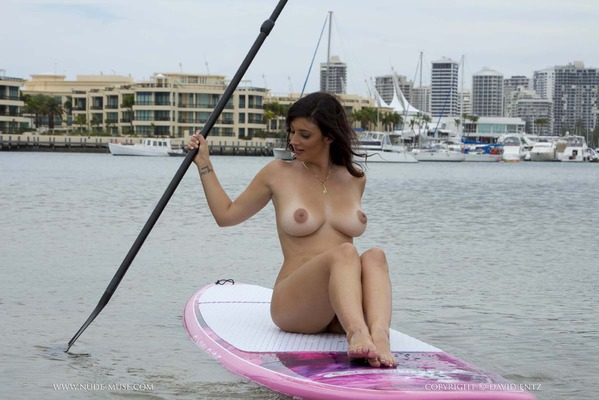 Nude Paddle Boarding - 04