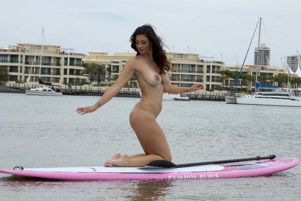 Nude Paddle Boarding - 07