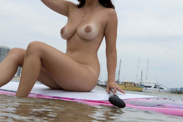 Nude Paddle Boarding - 12