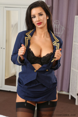 Sexy Flight Attendant - 01