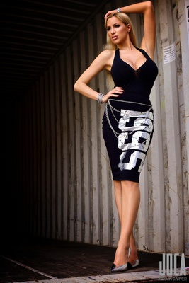 Tight Black Dress - 12