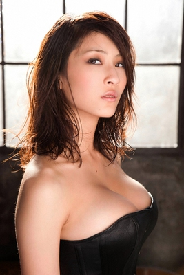 Busty Japanese AV Model in Varios Shots - 04
