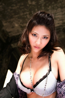 Busty Japanese AV Model in Varios Shots - 07