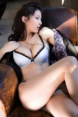 Busty Japanese AV Model in Varios Shots - 10