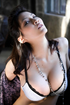 Busty Japanese AV Model in Varios Shots - 13