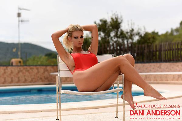 Hot Red Bodysuit - 01