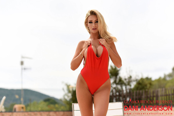 Hot Red Bodysuit - 04