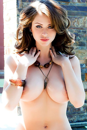 Emily Addison in 'Vacation To BoobyLand' via Penthouse
