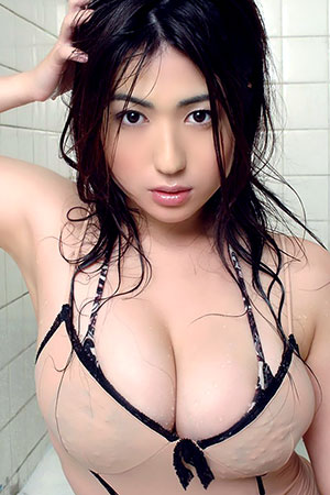 Takizawa in 'All Wet' via Busty Asian