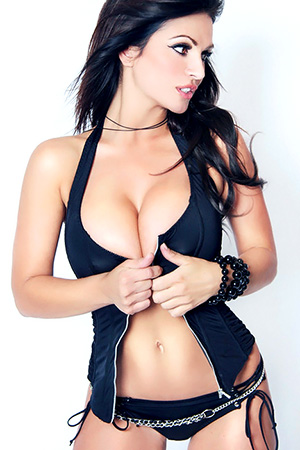 Denise Milani in 'Rock Star' via Denise Milani's Site