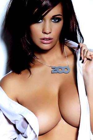 Holly Peers in 'Candids' via Nuts Magazine