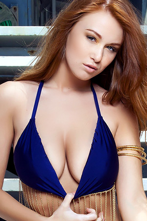 Leanna Decker in 'Beach Bunny' via Playboy