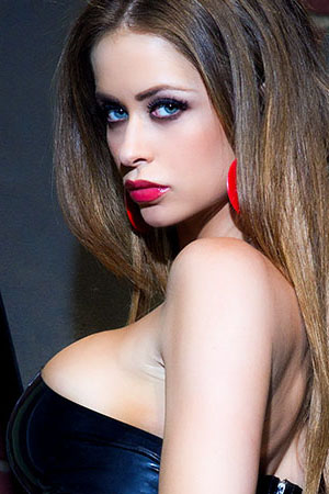 Emily Addison in 'Command Me Mistress' via Penthouse