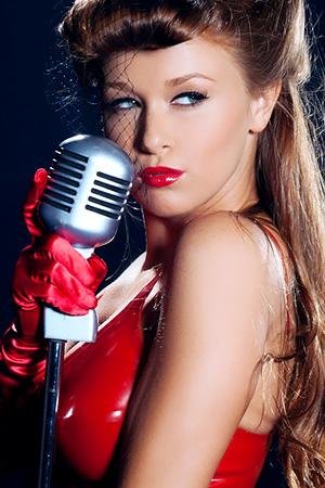 Leanna Decker in 'Rock n Roll Babe' via Playboy