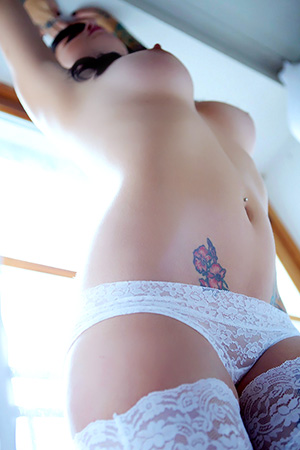 Aisline in 'Sugar Skull' via Suicide Girls