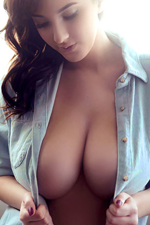 Joey Fisher in 'First Ever Solo Photo Shoot' via Nuts Magazine