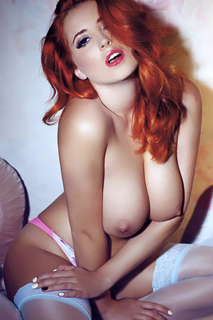 Lucy Collett in 'Hot Shoots Under The Gun' via Celeb Matrix