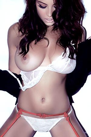 Lacey Banghard in 'Lacey Banghard topless 2012 Calendar' via Calendario Mania