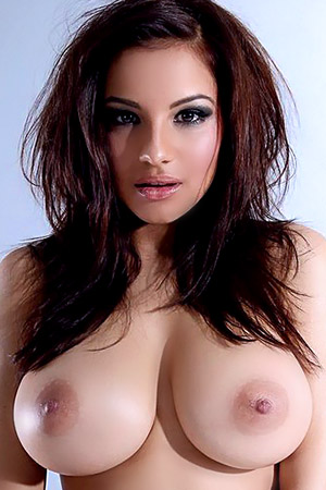 Lacey Banghard in 'Amatingly Hot Brunette in Sexy Boots' via Celeb Matrix