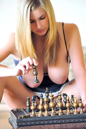 Danielle in 'Playing Chess' via Danielle FTV