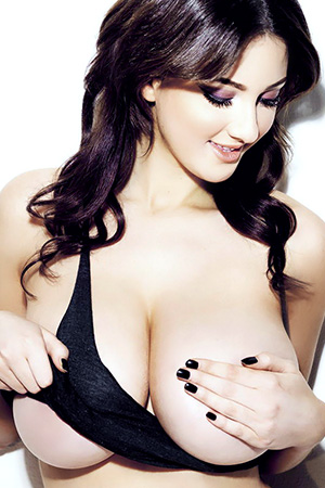 Joey Fisher in 'Topless' via Nuts Magazine